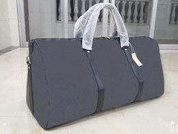 Wholesale Bag Men High Capacity - Holdall large capacity women travel bags famous classical designer hot sale high quality men shoulder duffel bags carry on luggage keepall