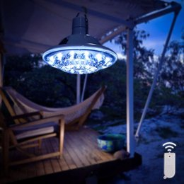 Wholesale Storm Lamp - Wholesale- Remote Control Solar Lamp Ultra Bright Tent Fishing Camping Equipment Light - Great for Hiking Hunting Storm Emergency Hurricane