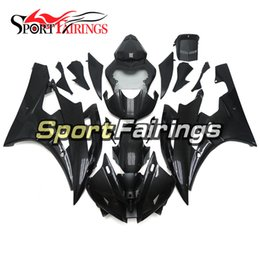 Wholesale R6 Carbon Fiber - Motorcycle Fairings For Yamaha YZF 600 R6 06 07 Year 2006 2007 Injection ABS Motorcycle Fairing Kit Full Covers Carenes Carbon Fiber Color