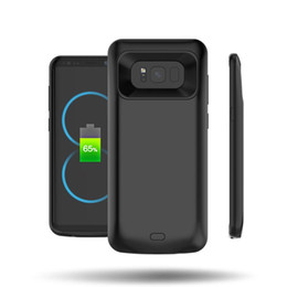 Wholesale External Backup Battery Galaxy - 5000mAh External power bank Charger pack backup battery case for SAM GALAXY S8