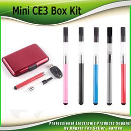 Wholesale E Cigarette Kits Dhl - Mini CE3 Box Starter Kits 280mAh Battery Oil Bud Touch Vaporizer atomizer O Pen Vape E cigarette Kit DHL Free 0209617