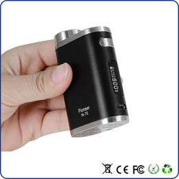 Wholesale joyetech evic e - e cig 2200mAh pioneer 75w TC box mod vape mods temp control battery For Mleo 3 Mini vaporizer tank Joyetech eVic vtwo mini