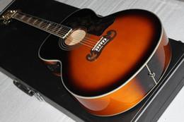 Wholesale Ebony Pick - 2011 G VS 200 CUSTOM Artist Acoustic FISHMAN pick-up Guitar in stock HOT