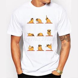 Wholesale Black Pomeranian - Camping Hiking T-Shirts Animal funny design Men t-shirt Pomeranian Cat Soth Elephant English Bulldog Pug hipster cool male tops tee