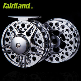 Wholesale Full Money - 2BB+1 80mm(3 4) Fly reel w  spare spool combo full metal money-saving set fly fishing wheel ice reel L R hand Interchangeable