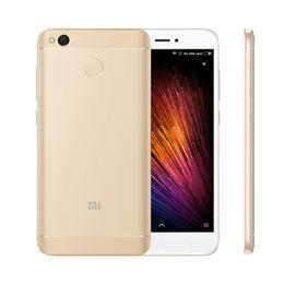 Wholesale Smartphone Gps 5inch - 5inch Xiaomi Redmi 4X cell phone 4G LTE Fingerprint mobile phone Octa Core smartphone 4GB RAM 64GB ROM 13MP camera 4000mAh Android6.0