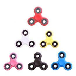 2017 EDC Fidget Spinner juguete dedo spinner juguete Mano tri spinner HandSpinner EDC Juguete para la descompresión Ansiedad con caja al por menor desde fabricantes