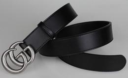 Wholesale Designer Casual Womens - 2017 Luxury High Quality Designer Belts Fashion letter pattern L buckle belt mens womens belt ceinture G optional attribute