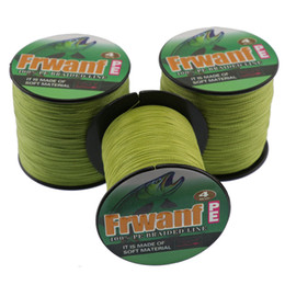 Wholesale Green River Rock - Frwanf super long line fishing 1000M pe braided fishing wires spetra 6-100LB top online fishing store cord 0.1mm-0.55mm