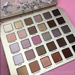 Wholesale Glitter Pallette - new The in stock New Arrival Makeup Eye Shadow Natural Love Pallette 30 Colors Professional Eyeshadow Palette