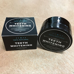 Wholesale Teeth Whitening Wholesale - 2017 New Package Tooth Whitening Powder Activated Organic Charcoal Stain Remover Tooth Cleaning Oral Hygiene Free shiping by DHL