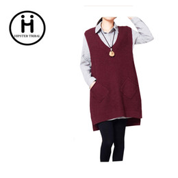 Wholesale Sweaters For Ladies - Wholesale-New Winter Spring Cardigans 2016 Women Fashion Casual Long cashmere Cardigan female Sweaters For Ladies casaquinho Feminino