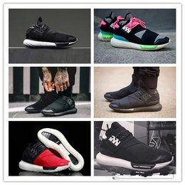 099d7dbe9 2017 Casual Shoes Y-3 QASA RACER Hight SnEakers Breathable Men and Women  Casual Shoes Couples Y3 Shoes Size Eur36-45