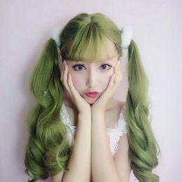 peluca lolita resistente al calor Rebajas ZF 26
