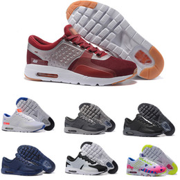 Wholesale Shoes Mans Air 87 - New Fashion Air Cushion Zero QS 87 Running Shoes For Women Men Top Quality Breathable Athletic Sport Outdoor Sneakers Eur Size 36-46