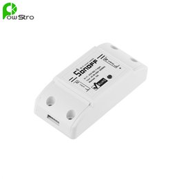 Wholesale home solutions - Wholesale-New Sonoff Smart Remote Control Wireless Switch Module Modified Low-cost Update Smart Home Solution with Timer for iOS Android