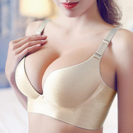 Wholesale Cups C - Fashion Women Bra Sexy Lingerie Cup Womens Bras Super Push Up Bra C Cup Seamless thin Bras For Women adjustable Bralette