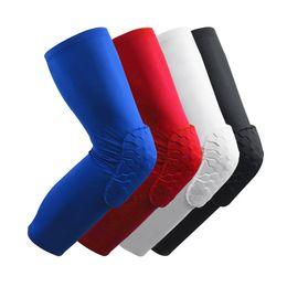 Wholesale Knee Pad Leggings - Honeycomb Basketball Knee Knee Cover Outdoor Sports Legguards Crusher Leggings