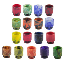 Wholesale Wholesalers Selling Gift Boxes - Hot Selling TFV8 TFV12 Epoxy Resin Drip Tip 510 Dripper 12.5mm Diameter Chuff Cap for TFV8 Big Bab Gift Box Packagey