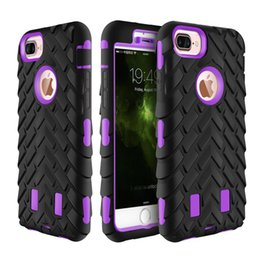 Wholesale Iphone5 Back Case - Defend Robot Back cover For Iphone5 6 7 Rugged Armor Case Robot 3 in 1 Defender Rugged hybrid Cases for iphone6 7 plus
