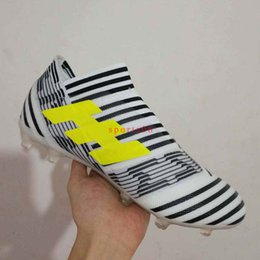 Wholesale Mens Pvc Boot - New arrival Soccer Shoes ACE 17+ Purecontrol Dragon Mens Soccer Boot Nemeziz 17+ 360 Agility FG low Ankle Football Boots Soccer Cleats 39-45