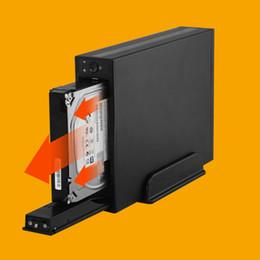 2019 hdd gehäuse großhandel Großhandels-External Metal Storage Enclosure für HDD 3,5 Zoll USB3.0 für Festplatte SATA rabatt hdd gehäuse großhandel