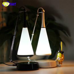 Wholesale Touch Sensor Led Lamp Speaker - FUMAT LED Night Light Novelty Touch sensor 17pcs LED Table Lamp with Bluetooth Speaker Reading lighting Bedroom Music Flashing