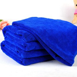 Wholesale Puppy Dog Towels - Pet Dog Towel Microfiber Bath Beach Drying Washing Blanket Cleaning Products Microfiber Dog Towel Dog Puppy Supplies Free Shipping