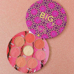 Wholesale Natural Books - 2017 Newest Tarte Makeup tarte big blush book limited edition Lasting 8 Color Blush Cosmestics By Tarte Power Blushes Kit Free Shipping