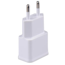Wholesale Ipad For Sell - US EU Universal Dual USB USA Wall Charger Adapter 5V 2A 2 Ports Us Plug Travel Charger For iPhone 4 5 6 iPad Samsung Hot Selling