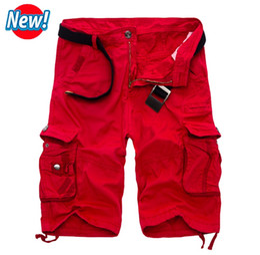 Wholesale Capris Shorts - 2017 Cargo Shorts Men Hot Sale Casual Camouflage Summer Brand Clothing Cotton Male Fashion Army Work Shorts Men Plus Size 29-40