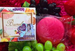 Wholesale Mask Body - (In Stock )- Bumebime Handwork Whitening Soap with Fruit Essential Natural Mask White Bright Oil Soap new item