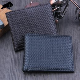 Wholesale Wallet Men Black Cool - ZYD-COOL Men Wallets Famous Brand Mens Wallet Male Purse Card Cash Receipt Holder Organizer Bifold Wallet Purse Pocket
