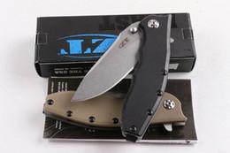 Wholesale High Quality Combat Knives - ZT 0562 2016 NEWER ZT Folding knife Zero Tolerance 0562 G10 High Quality ZT Folding Knife gift knives EDC tools 1pcs freeshipping