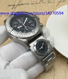 Wholesale Men Sapphire Bracelet - 2017 Top Mens Chronograph Quartz Watch Men's Multiple Time Zone Full Stainless Steel Bracelet Watches Men Dive Sport Date Chrono Wristwatch