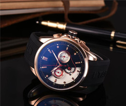 Wholesale High Quality Watches Cheap - new good man luxury brand drop shipping quartz cheap High quality mercedes-benz CHRONOGRAPH men watch luxury sports Men's Watch