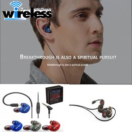 Wholesale mobile fone - QKZ W6 Earphone Headset With Mic Microphone For Mobile Phones MP3 Stereo Bass Earbuds With 3.5mm Jack fone de ouvido Sport Remove