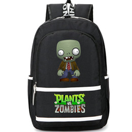 Wholesale Plants vs Zombies backpack The cute dead day pack PVZ play school bag Game rucksack Sport schoolbag Outdoor daypack