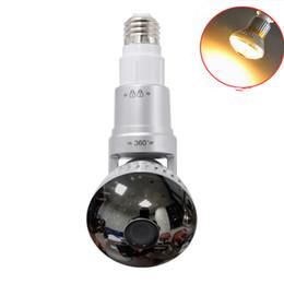 Wholesale Ip Lighting - IB-175 Newest WIFI Light Bulb Hidden IP For Indoors Security hidden cameras adapter in CCTV wifi cameras AT