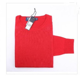 Wholesale Crew Sweaters - Free shipping 2017 new high quality mile wile polo brand men's twist sweater knit cotton sweater jumper pullover sweater men