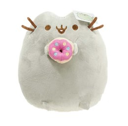"""Wholesale Hot Cookies - """"Hot-selling"""" 4 Different styles 6"""" 15CM Pusheen Cookie & Icecream & Doughnut Cat Plush Stuffed Animal Doll Toy 1PCS"""