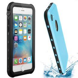 Wholesale Redpepper Iphone Case Cover - Redpepper Waterproof Case For Iphone X 8 7 6S Plus 5S 5C Samsung Galaxy S6 Shockproof Cover PC + TPU Armor Cover With Retail Package