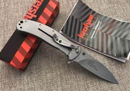 Ferramentas de caça oem on-line-Kershaw Qualidade OEM 1730ss 7130 EDC Pocket Knives Flipper Faca Dobrável Todo o Aço Muito Suave Camping Caça Ferramentas Faca de Caminhada F964E