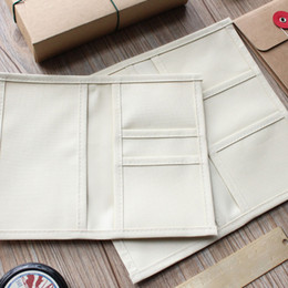 Wholesale Cloth Soft Book - Wholesale- New Oxford cloth Pocker for Traveler 's Notebook Diary Book Card Bag Receive Pocket Planner Accessories Washable