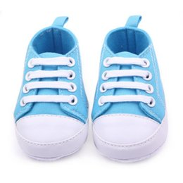 Wholesale Kids Sneakers For Wholesale - Wholesale- Infant Newborn Baby Boy Girl Kid Soft Sole Shoes Sneaker Newborn 0-12 Months For Baby Boy 2017 Hot Sale