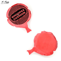 Wholesale Rubber Tv - Wholesale-Stock Funny Prank Whoopee Cushion Jokes Gag Fart Pad Fashion Trick Novelty Toy For adult Children