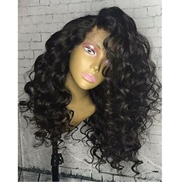 Wholesale Long Lace Front Wigs Cheap - Best Lace Front Human Hair Wigs For Black Women Loose Curly Wave Lace Frontal Wig Cheap Glueless Full Lace Human Hair Wigs
