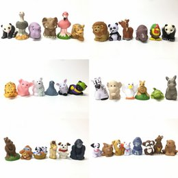 Wholesale Little People Toys - Free Shipping Random Pick 15x Fisher-Price Little People Farm Zoo Animal (No Sound ) Action figure toy HA514