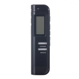 Wholesale 4gb Digital Voice Telephone Recorder - Wholesale- Build-in Speaker Mini MP3 Player 16GB USB VOR Rechargeable Digital Audio Voice Recorder 650Hr Dictaphone Telephone recorder