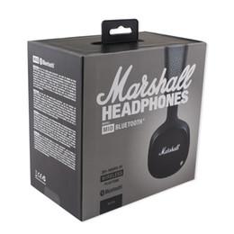 2019 beste bluetooth mic DHL Marshall MID Bluetooth Kopfhörer Mit Mikrofon Tiefer Bass DJ Hi-Fi Headset Professionelle Marshall Kopfhörer Bluetooth Headsets Bestes Geschenk günstig beste bluetooth mic